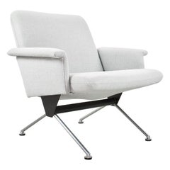 Mid-Century Modern executive chair in wool by Andre Cordemeyer, 1961