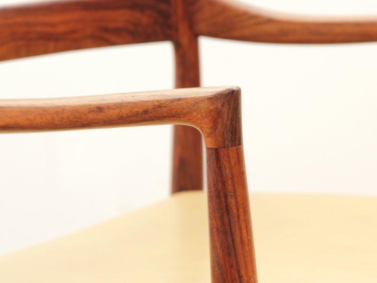Mid-Century Modern Armchair in Rosewood by Kai Lyngfeldt For Sale 6