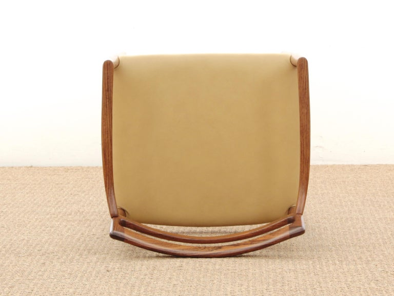 Mid-Century Modern Armchair in Rosewood by Kai Lyngfeldt For Sale 2