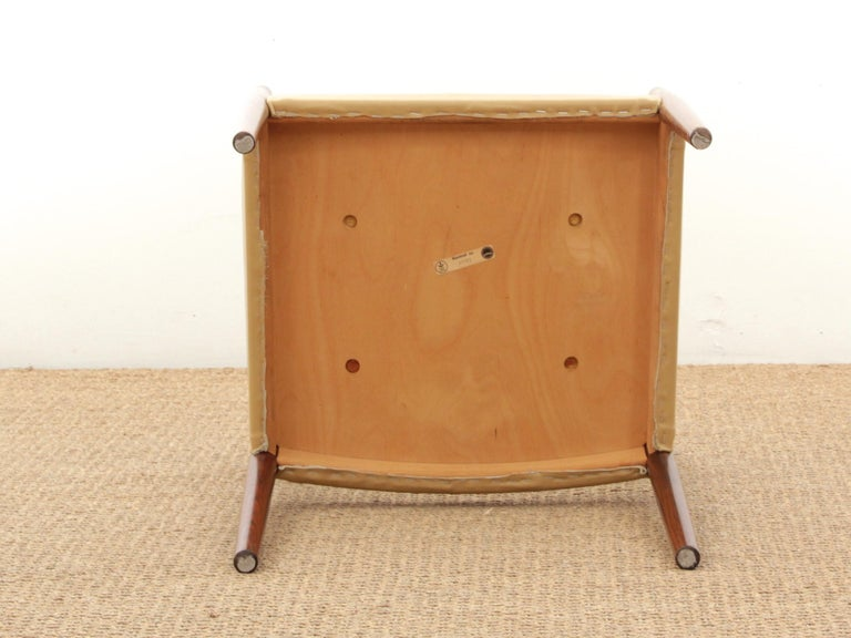 Mid-Century Modern Armchair in Rosewood by Kai Lyngfeldt For Sale 3