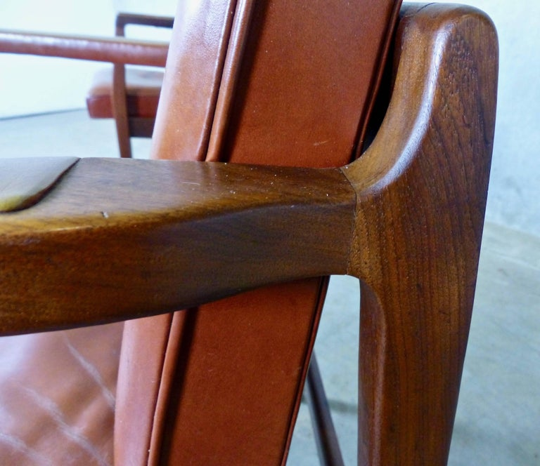 Astonishing Mid Century Modern Armchairs By B L Marble Chair Co At Machost Co Dining Chair Design Ideas Machostcouk
