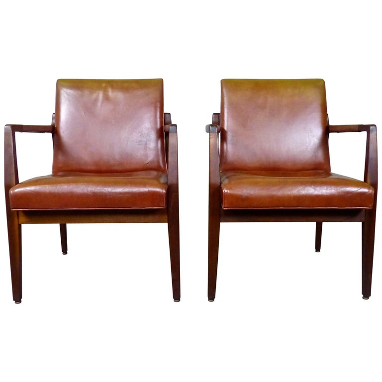 Astounding Mid Century Modern Armchairs By B L Marble Chair Co At Machost Co Dining Chair Design Ideas Machostcouk