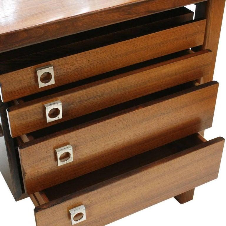 Mid-Century Modern Arne Vodder Rosewood L-Shape Danish Executive Desk For Sale 1