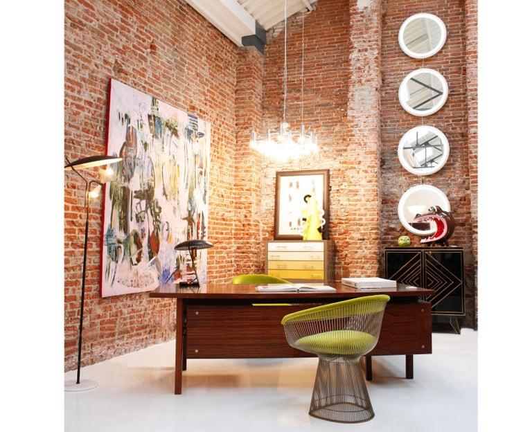 Mid-Century Modern Arne Vodder Rosewood L-Shape Danish Executive Desk For Sale 5