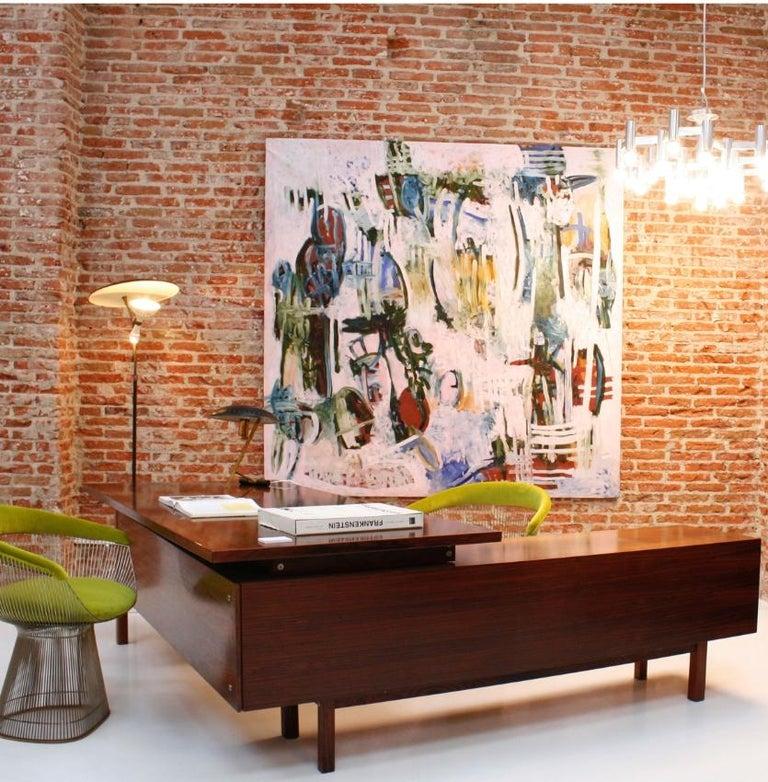 Mid-Century Modern Arne Vodder Rosewood L-Shape Danish Executive Desk For Sale 4