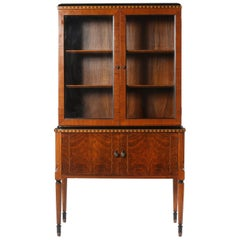 Mid-Century Modern  /  Art Deco China Cabinet