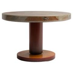 Mid-Century Modern Art Deco Otto Wretling Round Table