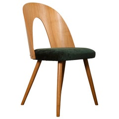 Mid-Century Modern Ash Dining Chairs by Antonin Suman for Tatra