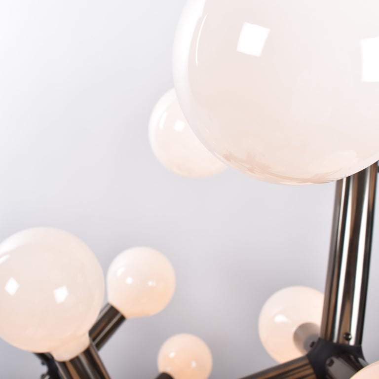Mid-Century Modern Atomic Floor Lamp by Trix & Robert Haussmann for Swisslamps For Sale 2