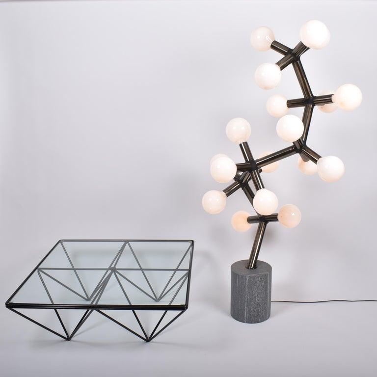 Mid-Century Modern Atomic Floor Lamp by Trix & Robert Haussmann for Swisslamps For Sale 3
