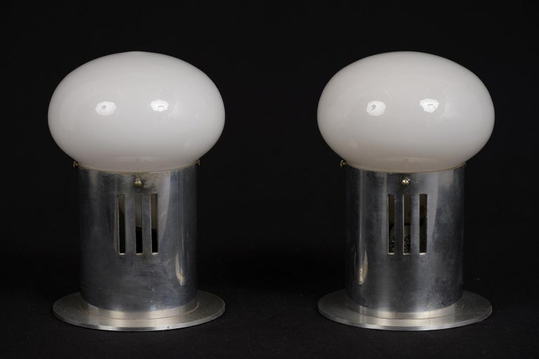 Steel Mid-Century Modern Atomic Table Lamps For Sale