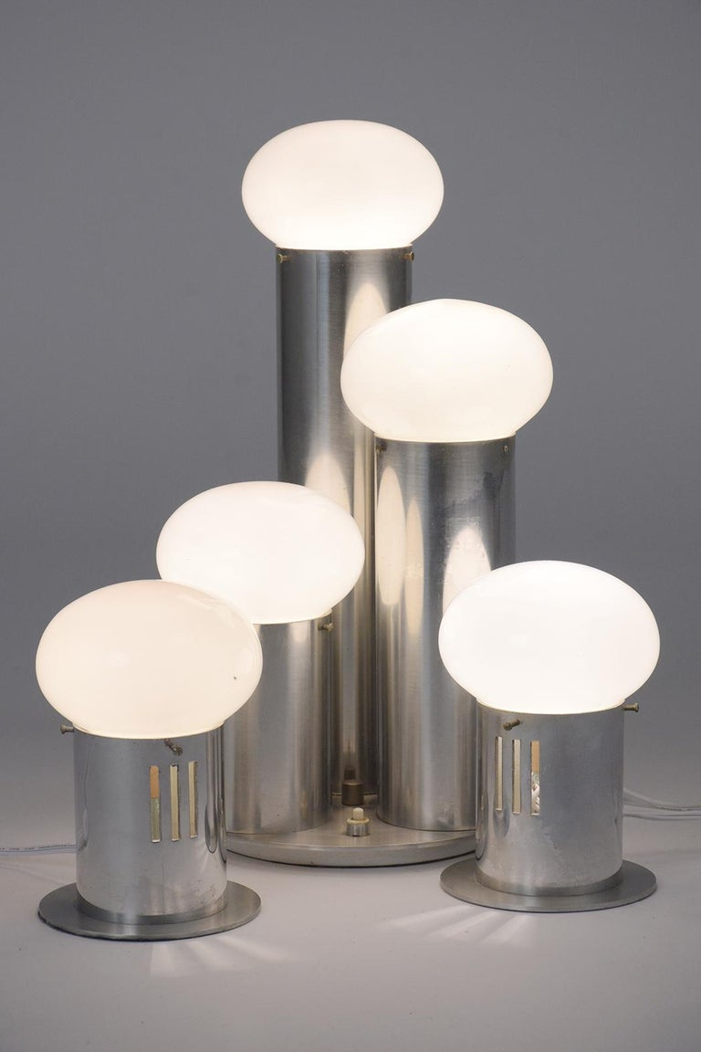 Mid-Century Modern Atomic Table Lamps For Sale 2