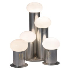 Mid-Century Modern Atomic Table Lamps