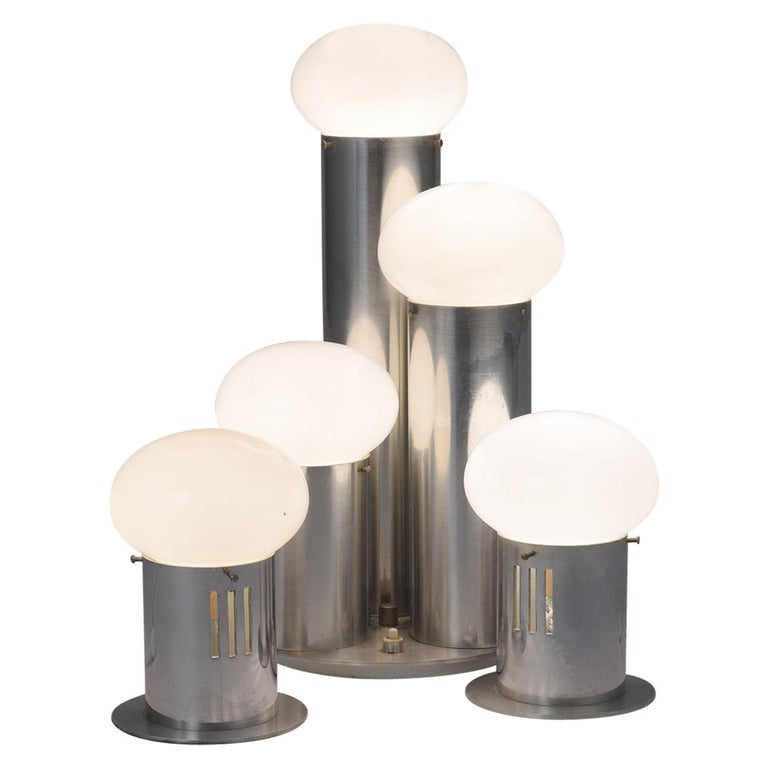 Mid-Century Modern Atomic Table Lamps For Sale
