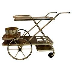 Mid-Century Modern Bar Cart by Kaymet