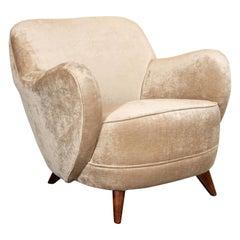 "Mid-Century Modern ""Barrel"" Chair Designed & Documented by Vladimir Kagan, 1947"