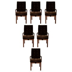 Mid-Century Dillingham Set of 6 Dining Armchairs, 1970s