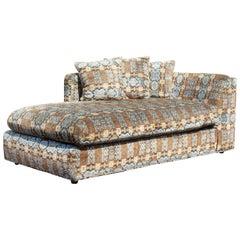 Mid-Century Modern Baughman Lenor Larsen Style Chaise Lounge Chair Loveseat