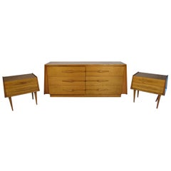 Mid-Century Modern Bedroom Set by Edmund Spence