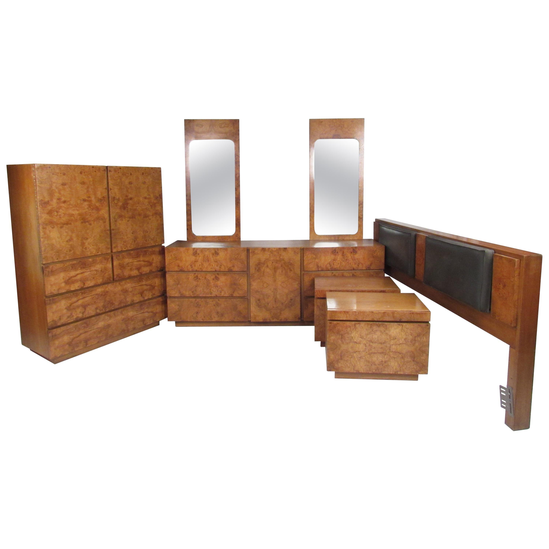 Mid-Century Modern Bedroom Set by Lane Furniture