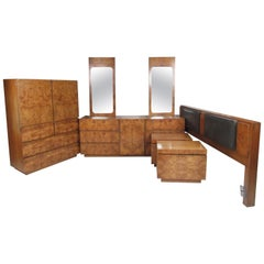 Mid-Century Modern Bedroom Set by Lane Furniture