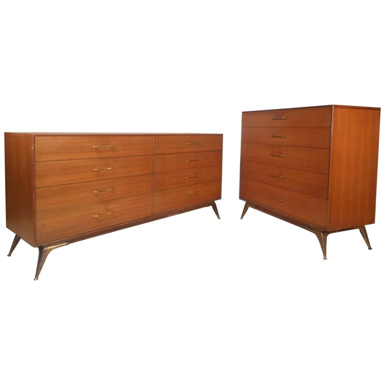 Mid-Century Modern Bedroom Set by R-Way Furniture For Sale