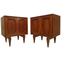 Mid-Century Modern Bedside Cabinets