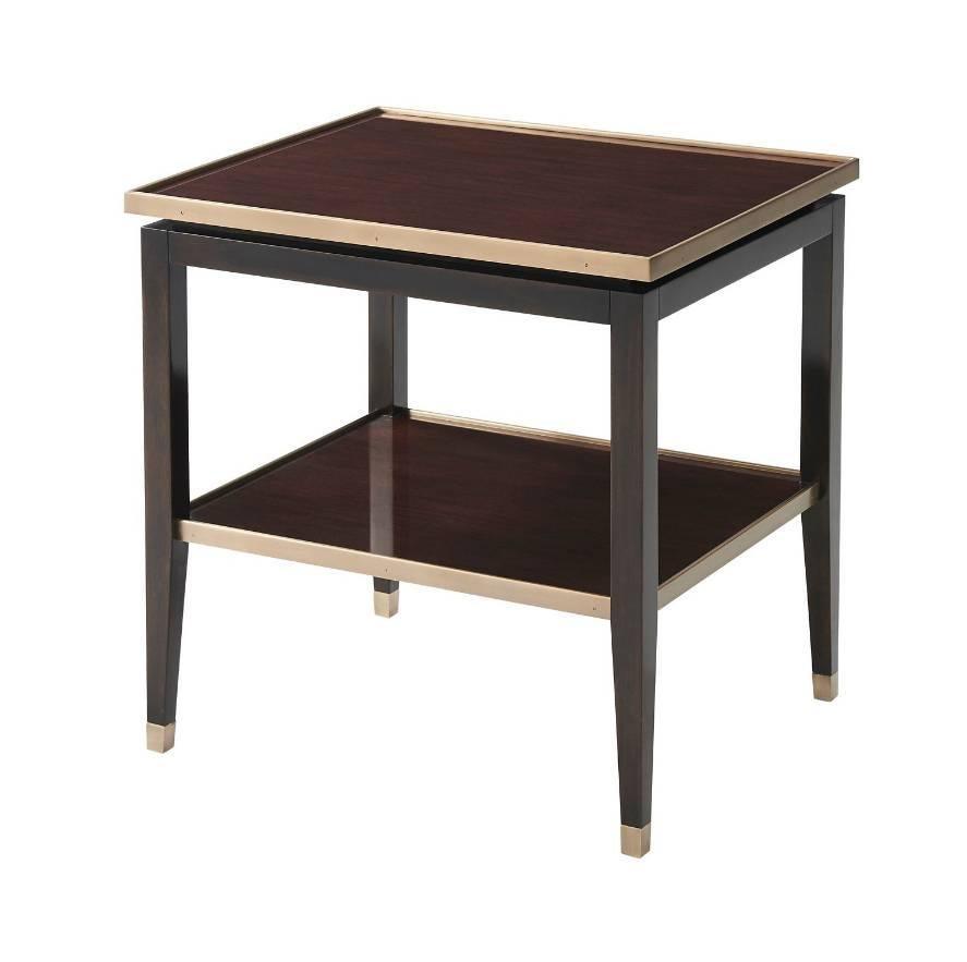 Mid-Century Modern Bedside Table