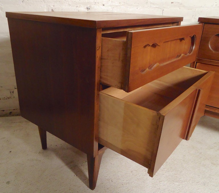 Mid-20th Century Mid-Century Modern Bedside Tables For Sale
