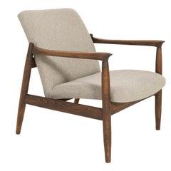 Mid-Century Modern Beige Armchair, Edmund Homa, 1960s