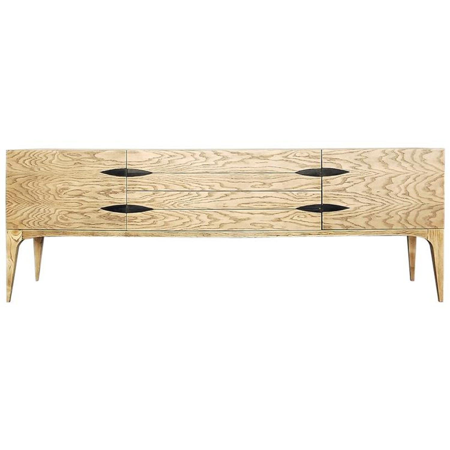 Mid Century Modern Belgian Raw Oak Sideboard 1960s At 1stdibs