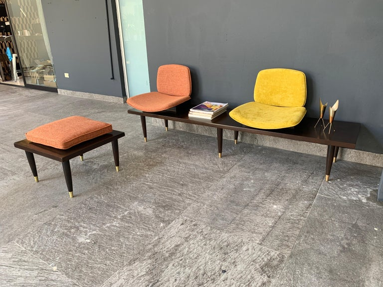 Mid-20th Century Mid-Century Modern Bench For Sale