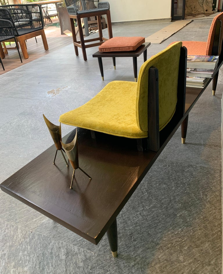 Mid-Century Modern Bench For Sale 1