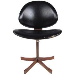 Mid-Century Modern Bentwood Teak Side Chair by Kodawood