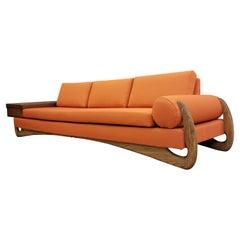 Mid-Century Modern Biomorphic Sofa