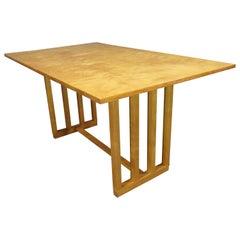 Mid-Century Modern Birch Table / Desk by Eliel Saarinen for Johnson Furniture