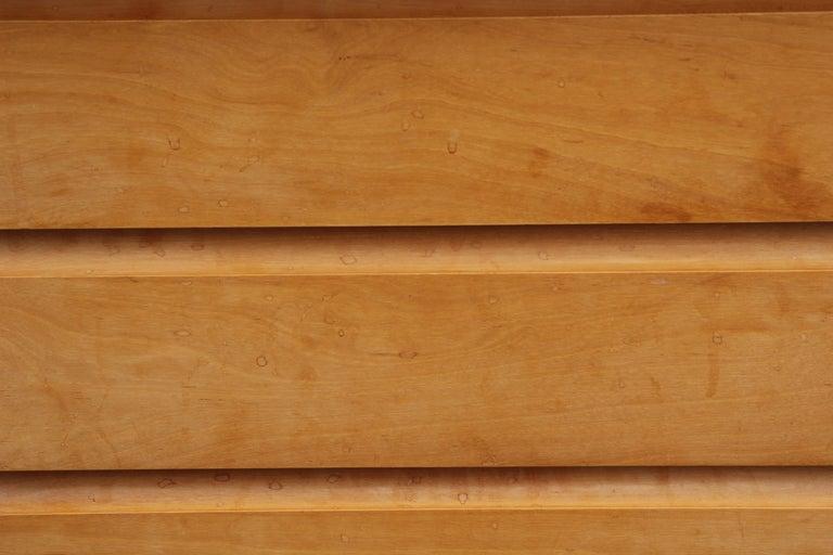 Mid-Century Modern Birchcraft by Baumritter Birch Chest of Drawers In Good Condition In Houston, TX