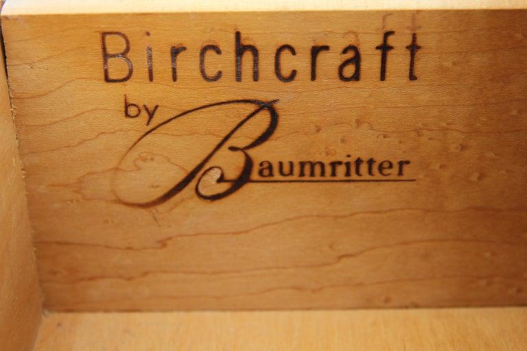 Mid-20th Century Mid-Century Modern Birchcraft by Baumritter Birch Chest of Drawers