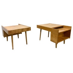 Mid-Century Modern Book Shelf End Tables by Glenn of California