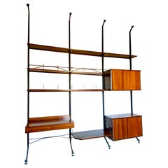 Mid-Century Modern Bookcase by Ico Parisi for MIM Rome
