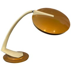 Mid-Century Modern Boomerang Desk Lamp by Fase, Spain