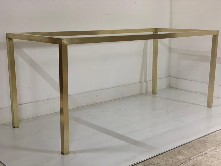 Mid-20th Century Mid-Century Modern Brass Table Base For Sale
