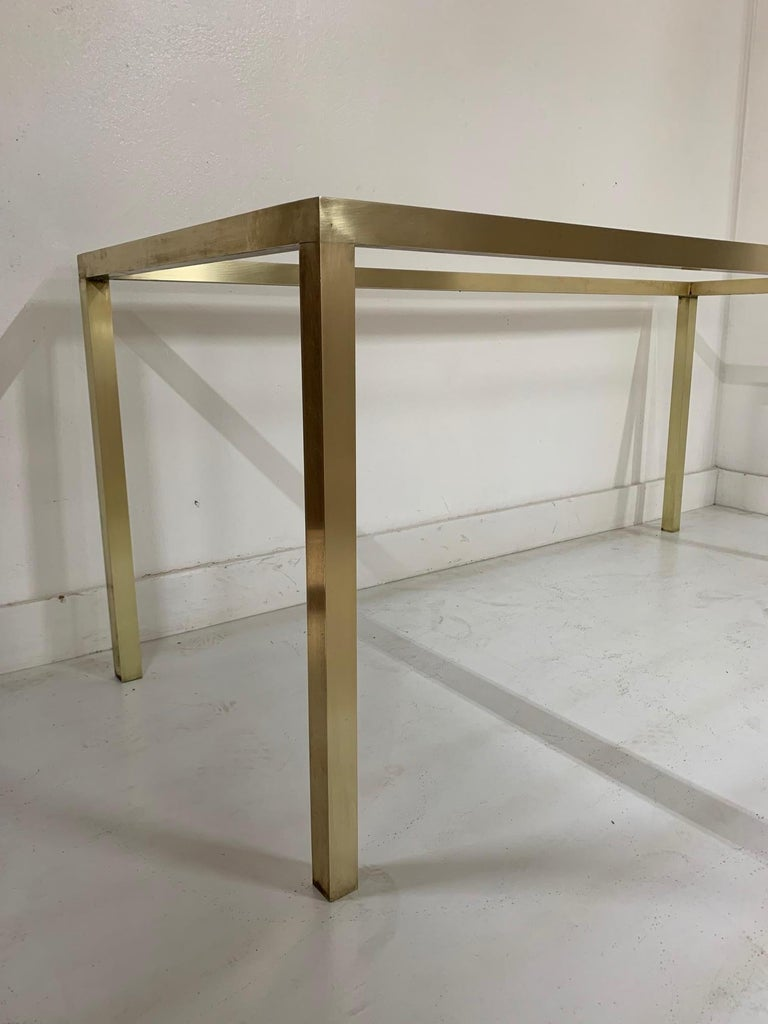 Mid-Century Modern Brass Table Base For Sale 1