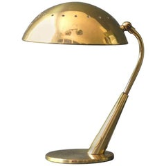 Mid-Century Modern Brass Table Lamp by Kaiser