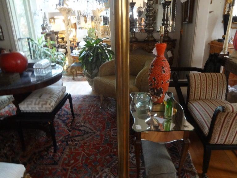 Mid-Century Modern Brass Tripod Floor Lamp 3