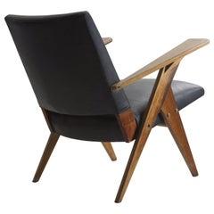 Mid-Century Modern Brazilian armchair from Linha Z by José Zanine Caldas