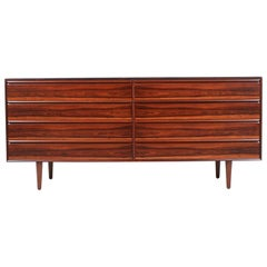 Mid-Century Modern Brazilian Rosewood Dresser by Westnofa