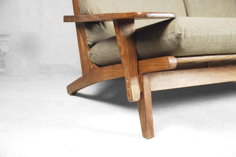 Mid-Century Modern Brazilian Zoomorphic Vintage Sofa with Headrest, 1960s For Sale 5