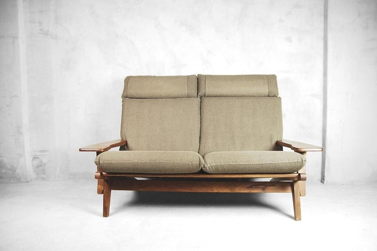 Mid-Century Modern Brazilian Zoomorphic Vintage Sofa with Headrest, 1960s For Sale 15