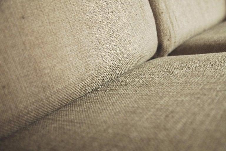 Mid-Century Modern Brazilian Zoomorphic Vintage Sofa with Headrest, 1960s For Sale 1